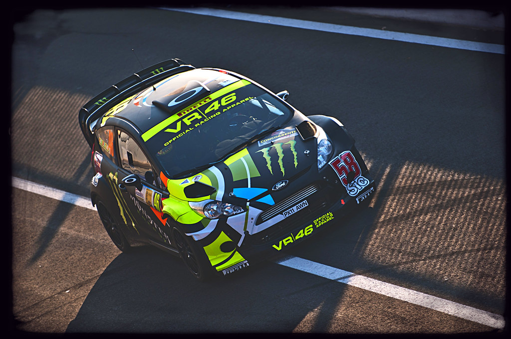 Monster Energy Car