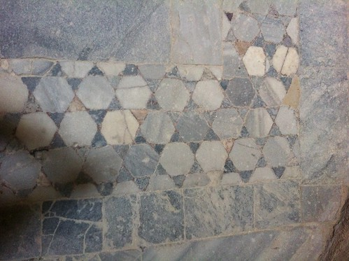 Six-Sided Stars in Mosaic on Floor of Qaitbey Citadel, Alexandria, Virginia