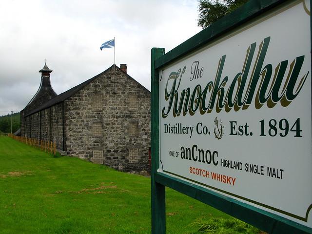 Knockdhu / AnCnoc distillery