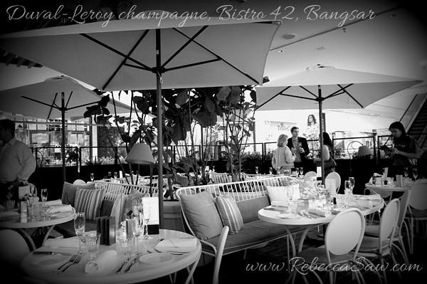 Duval-Leroy champagne, Bistro 42 Bangsar-001