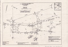 Trevu House Re-subdivision Plan 1982