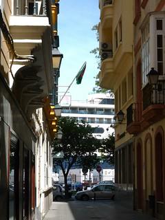 Cadiz Puerto Rathaus Parkhaus Hafen