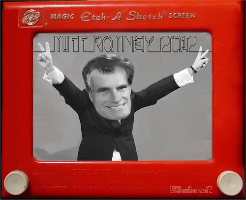 TOONS Mitt Romney (Etch-A-Sketch Edition) ---u0026gt; - Democratic Underground