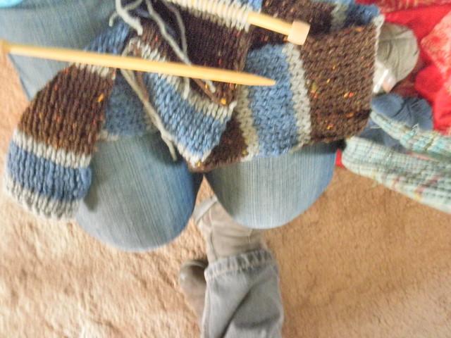 Trinlay K: a pattern! Dr. Watson\'s scarf