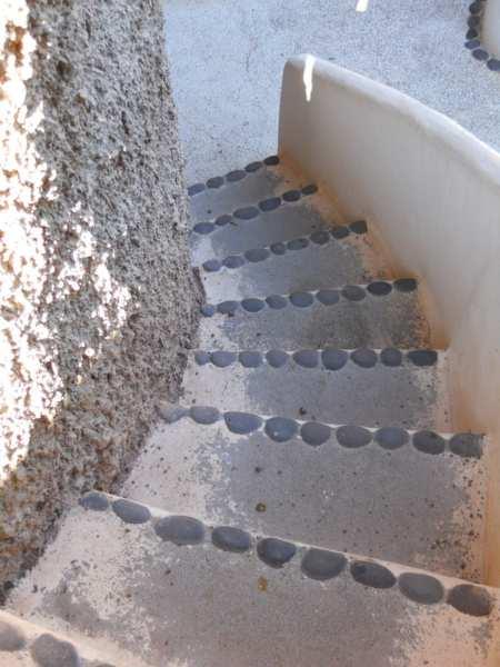 Escalera en jardines Omar Sharif Lanzarote v4