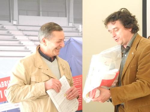 Vincenzo Martorano e Fausto Casini