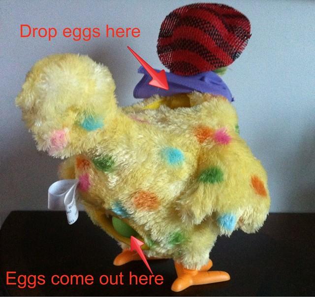 Squawkin' Egg Droppin' Hen by Hallmark