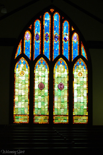 Stain Glass: Wai`oli Hui`ia Church