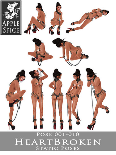 Apple Spice - HeartBroken Static Poses 001-010