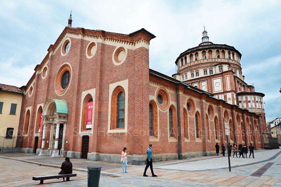 Santa Maria delle Grazie @ Milan, Italy