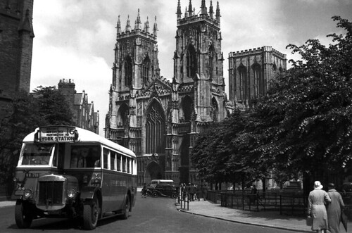York West Yorkshire Tilling Stevens Y244 near York Minster