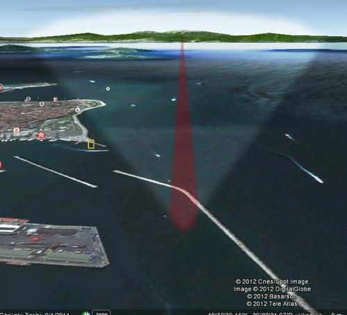 """Google Earth """"makett"""""""