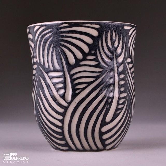 Sgraffito ceramics car interior design for Clay pottery designs