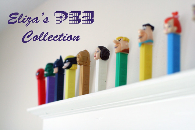 Eliza's Pez Collection
