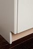 91CHE swept endpanel detail by Tomas by Tomas Kitchen Living
