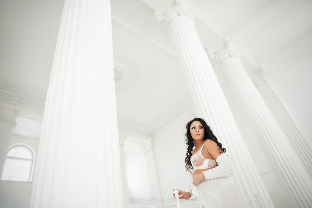 Фотосессия Екатерины в студии