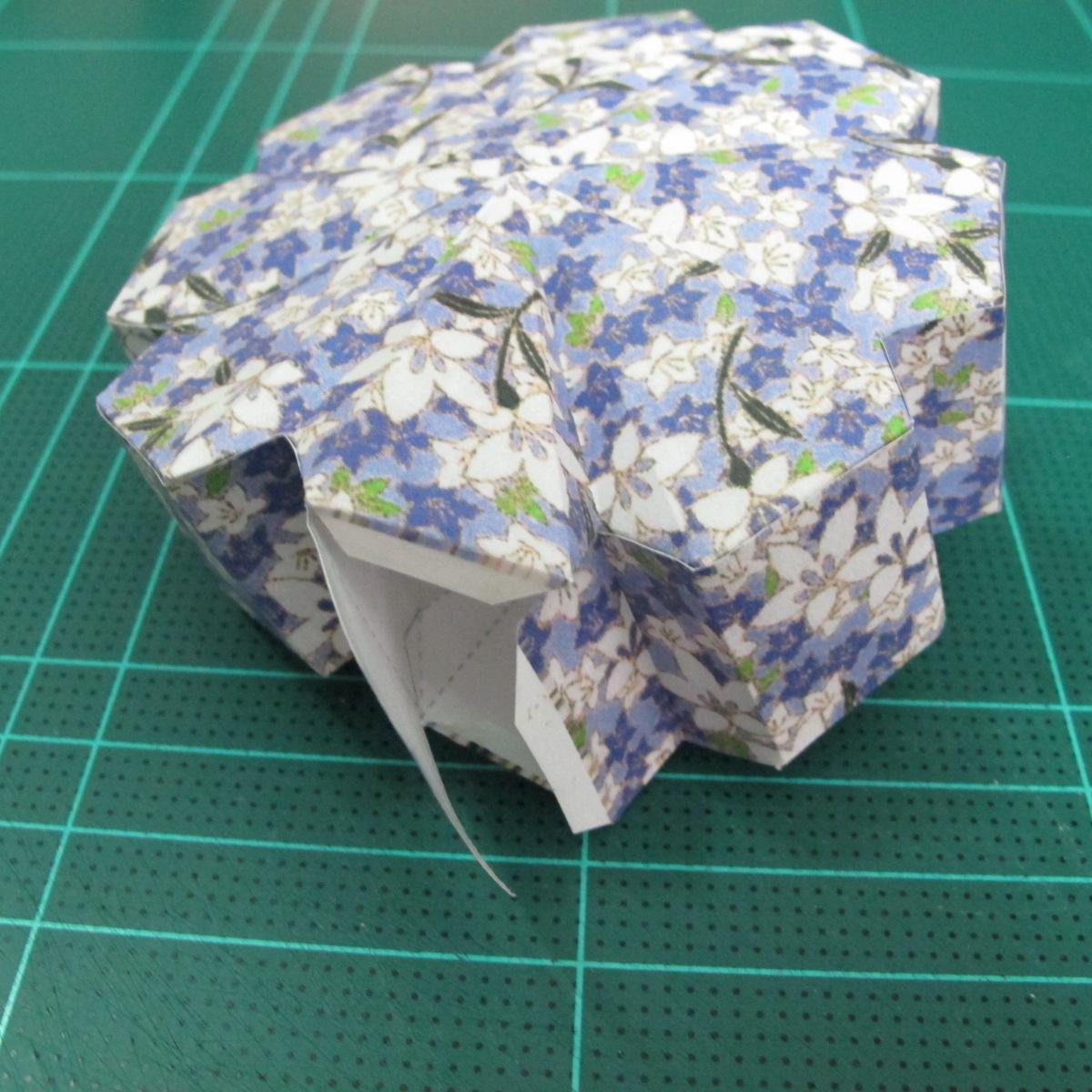 วิธีทำโมเดลกระดาษสำหรับตกแต่งทรงเรขาคณิต (Decor Geometry Papercraft Model) 009
