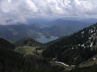 Jachenau-Blick