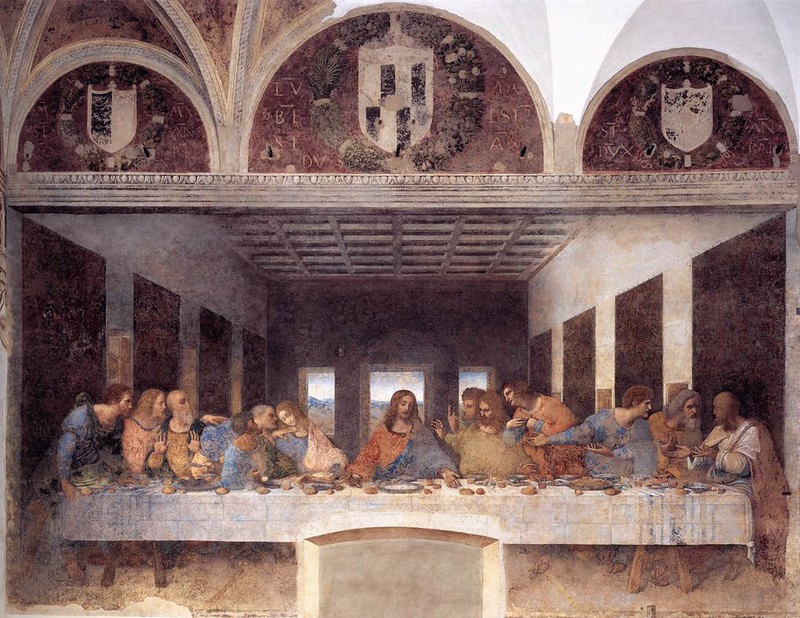 Ultima Ceia - Leonardo Da Vinci