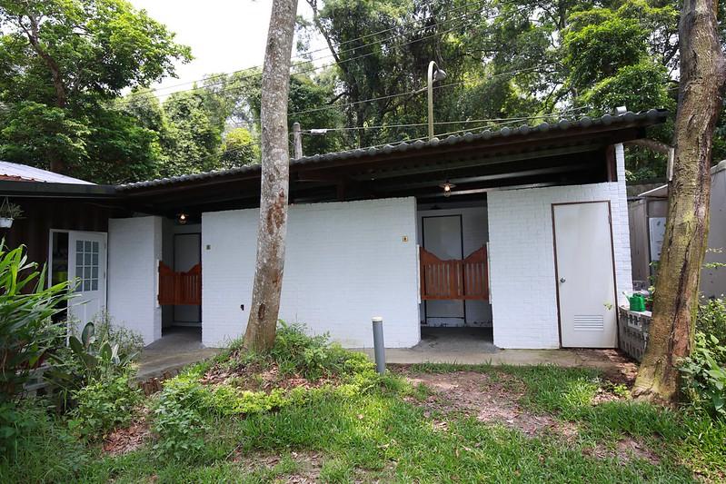 和餐廳共用的廁所