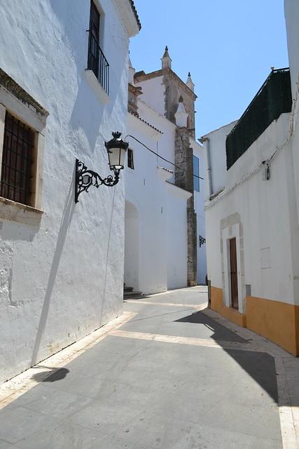 Una bonita callejuela de Olivenza