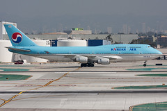 HL7491 B747-400 Korean Air