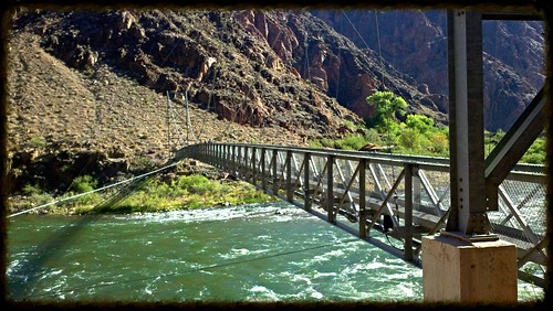 Silver bridge colorado river
