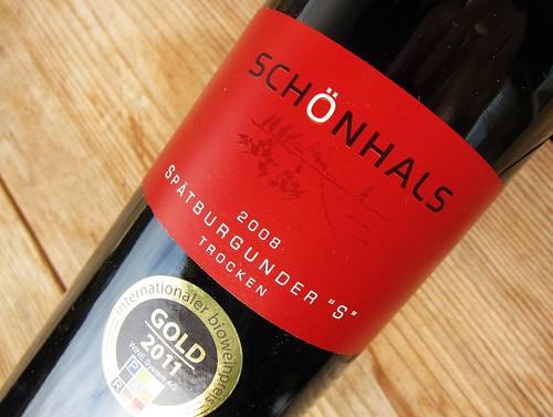 Schoenhals Spaetburgunder