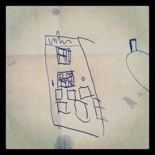 Mommy, I drew you a Tardis