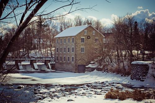 冬天沃森的磨坊