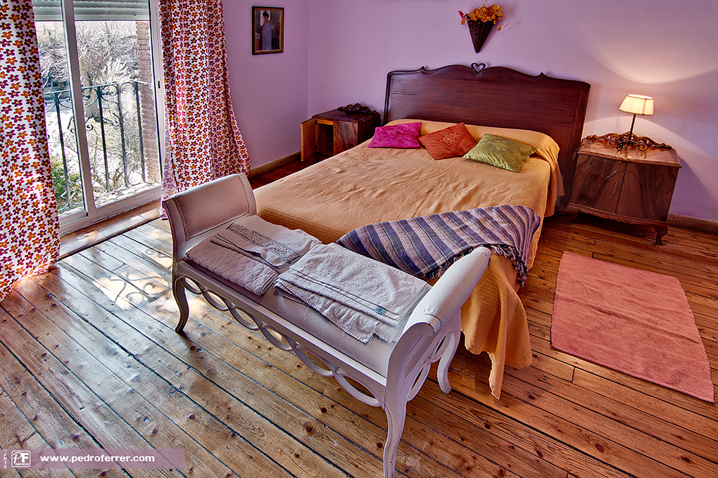 Casona Alpau - bedroom