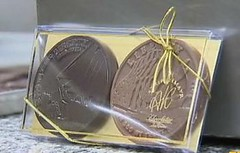 Chocolate Star Spangled Banner coins2