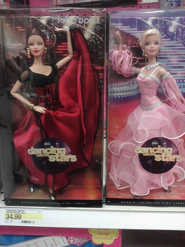 #DWTS Barbie dolls! Paso Doble & Waltz! $34.99 each! at Target!