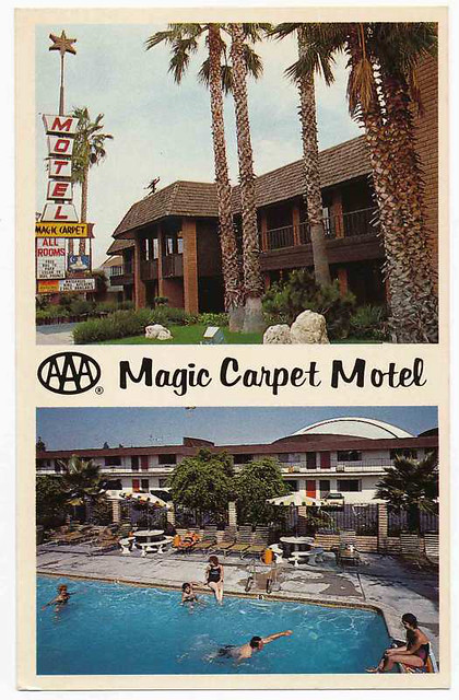 Magic Carpet Motel Anaheim 1984 Flickr Photo Sharing