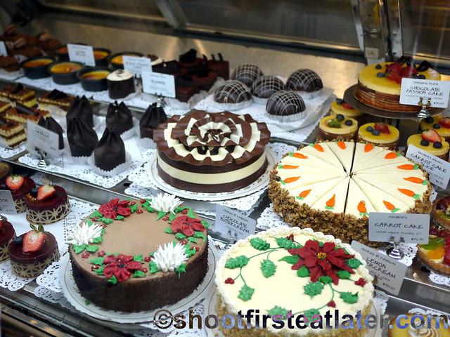 Dean & Deluca Georgetown DC- cakes