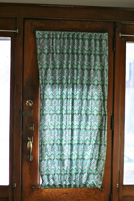 Handmade Front Door Curtain