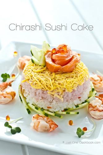 Chirashi Sushi Cake for 6bittersweets II