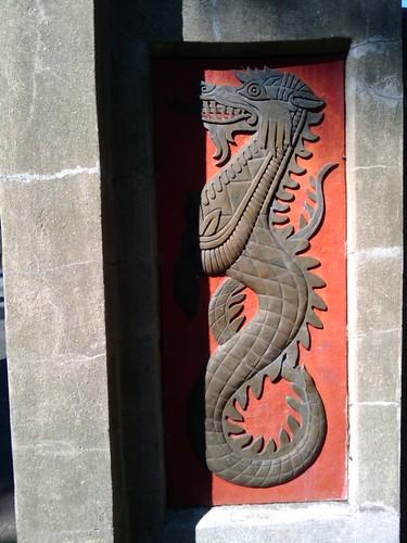 Bronx Zoo: Dragon Design at Asia Gate