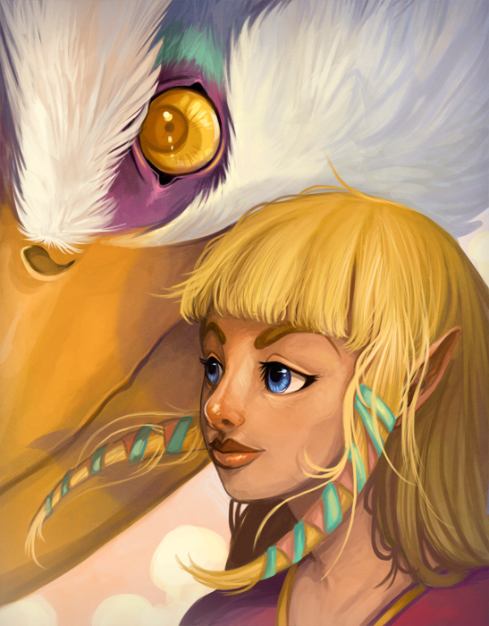 Princesa Zelda (obra de Flying-Fox)