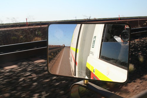 Objects in mirror are closer than they appear...