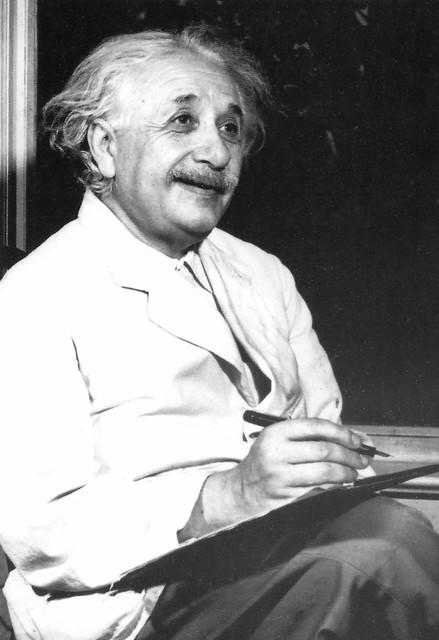 Albert Einstein Handwriting Sample
