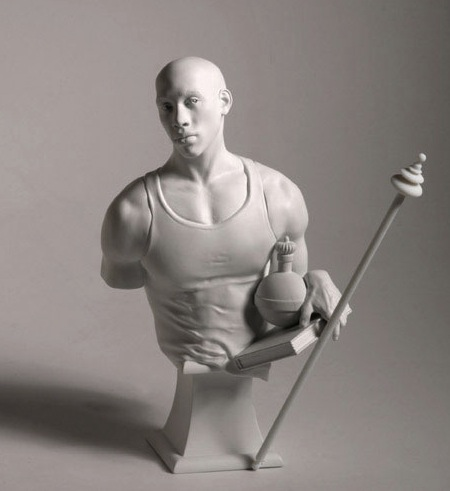 Kehinde Wiley Bust: St. Francis of Adelaide