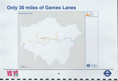 TfL Slides for Olympic planning