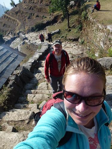 Poon Hill Trekking - dag 2 - klimmen
