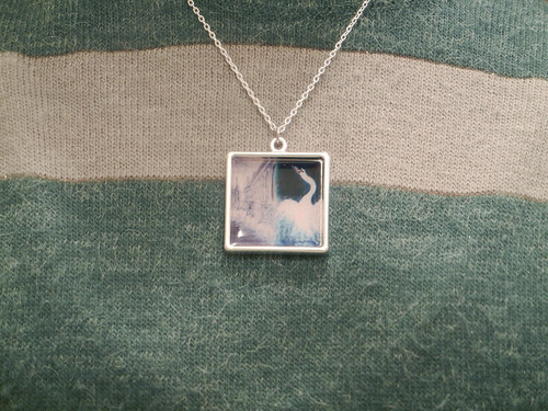 Zazzle Necklace - Oil Painting In Distant Country _ 7798
