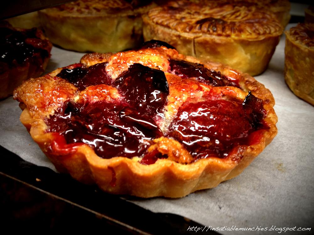 Frangipane blood plum tarts