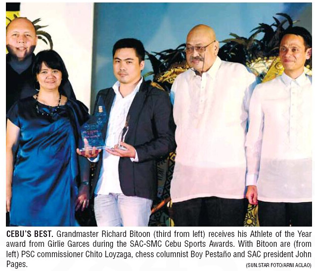 d40ac28e8 As editor Mike Limpag pointed out yesterday, chess is the big winner of the  30th Cebu Sports Awards.