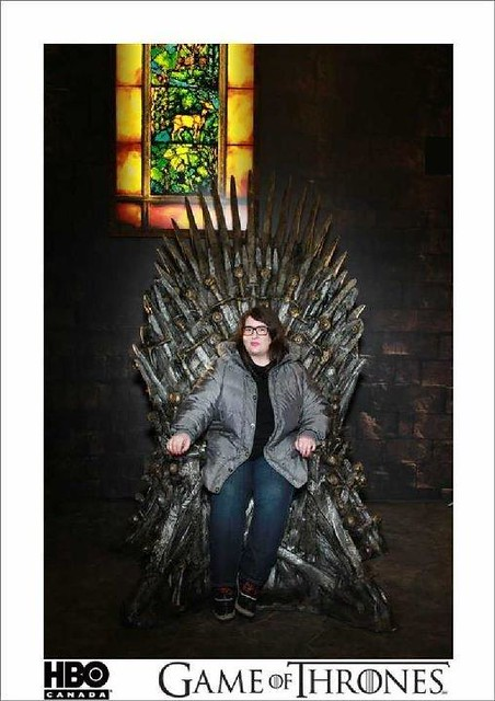 On the Iron Throne