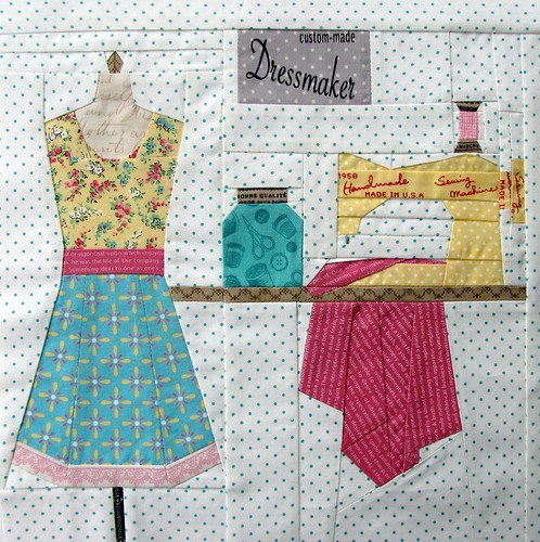 Design Studio - Sew Out Loud QAL Block #5
