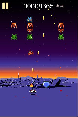 Galactians 2 HTML5 game